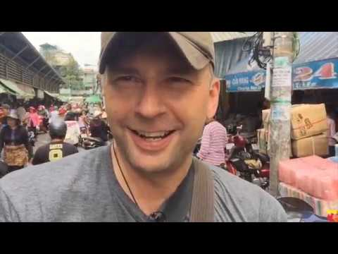 Exploring Ho Chi Minh City, Vietnam- Bustling Binh Tay Whole