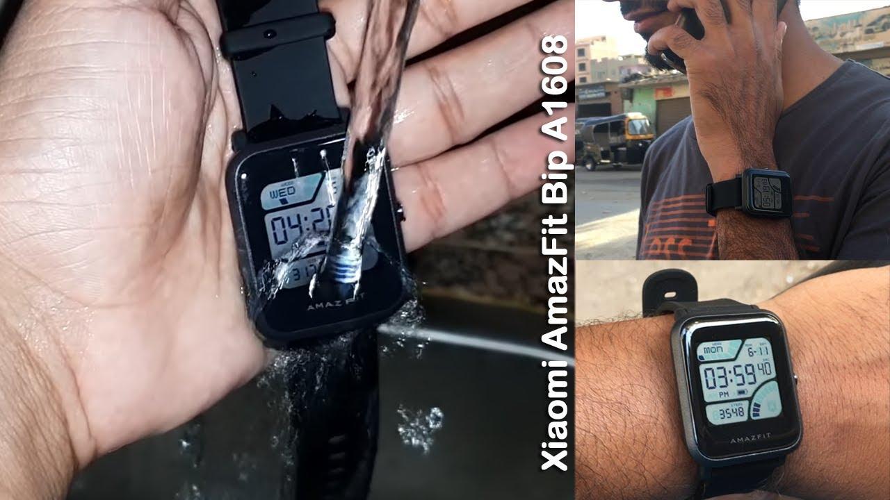 مراجعة ساعة شاومي الذكية AmazFit Bip A1608 ببطارية تدوم 45 يوماً ????