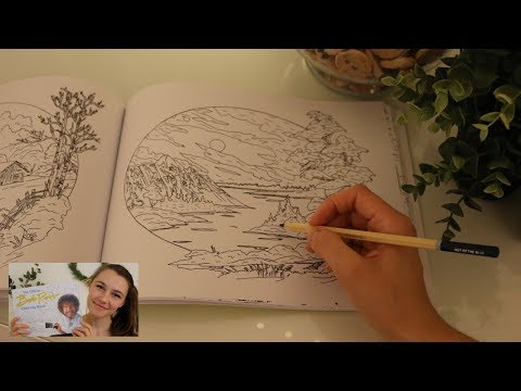 asmr---coloring-in-the-official-bob-ross-coloring-book-🖍️