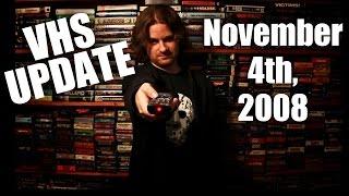 horror vhs update november 4th 2008