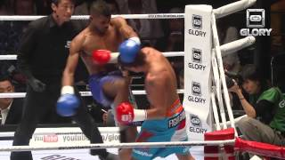 GLORY: Vicious Striking Knee KO (Andy Ristie)