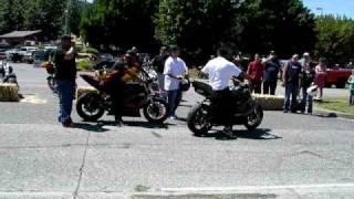 Hawaiian Dave and Abraham Lincoln Stunt Bikes XXX Issaquah 2009