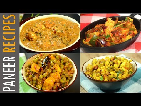 Easy Paneer Recipes For Lunch/Dinner | Quick Paneer Recipes