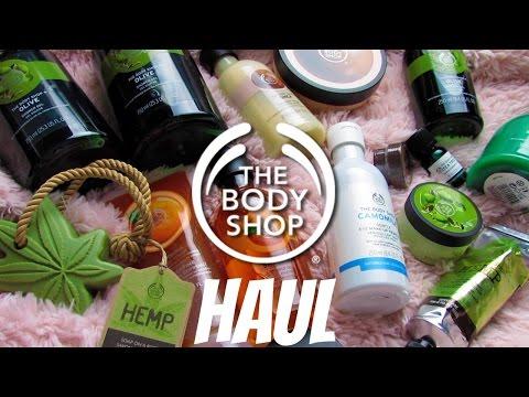 THE BODY SHOP HAUL | December 2016