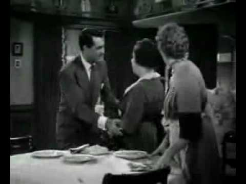 Constance Klosterman favorite scene in Arsenic and Old Lace