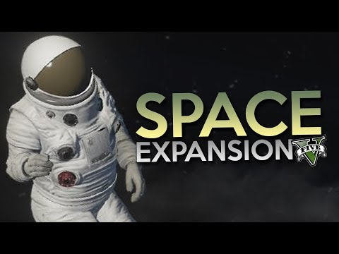 GTA 5 Mod - SPACE EXPANSION !! - Momen Lucu GTA