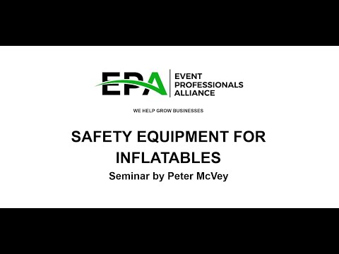 Inflatable Operators Safety Equipment