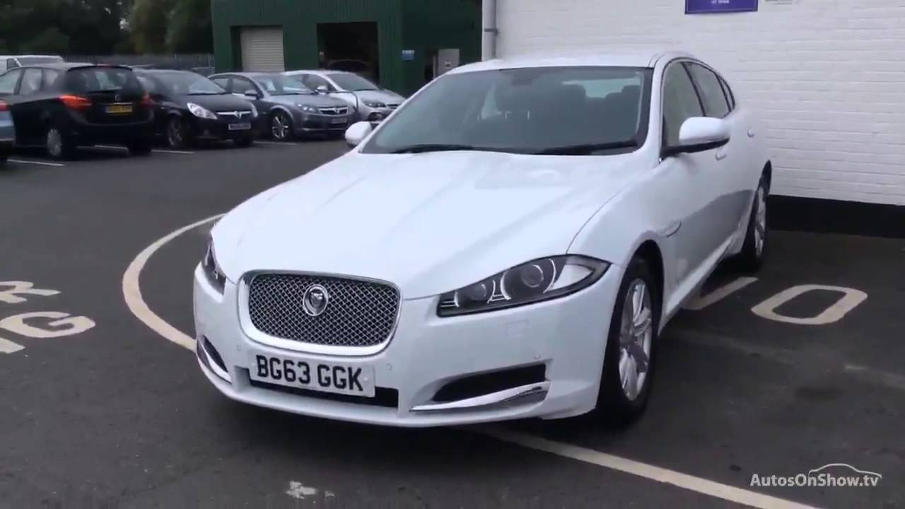 JAGUAR XF D LUXURY WHITE 2013  S