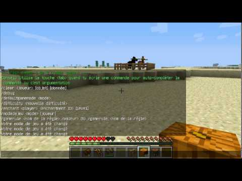 Minecraft comment dresser un cheval