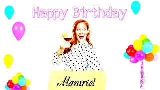 CARTOON-B-DAY-SONG 4 MAMRIE HART! :D