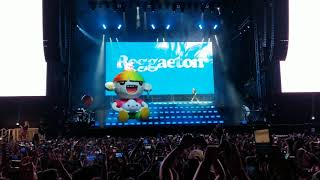 J Balvin - Opening Song - Reggaeton (LIVE) - Lollapalooza Chicago 2019