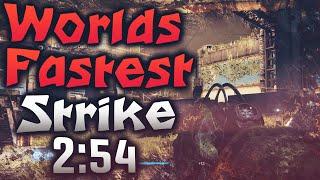 Worlds Fastest Strike 2:54 (Destiny) Nexus Speed Run
