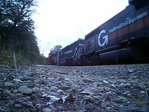 Maine Railfanning - 2009-2010
