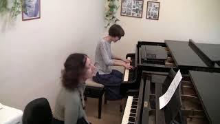 ОТКРЫТЫЙ УРОК (фортепиано)