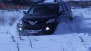 Great Wall Hover H5 off-road тест в снегу. Hover in the snow