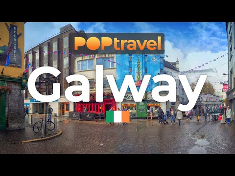 Walking in GALWAY / Ireland 🇮🇪- 4K 60fps (UHD)