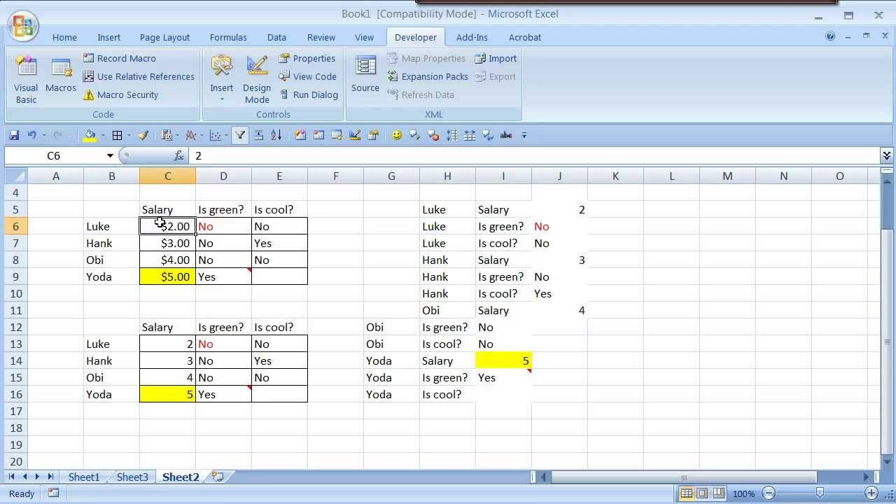 word how to make text stick to columns