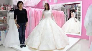 Образ невесты. Часть 6. Примерка свадебных платьев. Выпуск №40