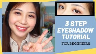 3 Step Eyeshadow Tut๐rial For Beginners