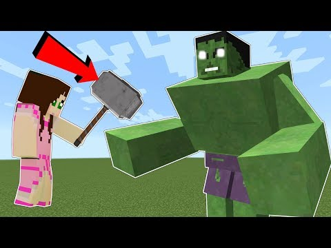 Minecraft: THE HULK!!! (HULK WILL SMASH YOU!!) Mod Showcase thumbnail
