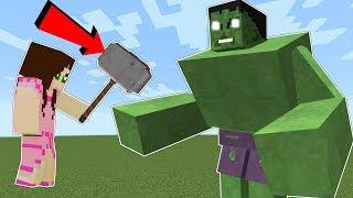 Minecraft: THE HULK!!! (HULK WILL SMASH YOU!!) Mod Showcase