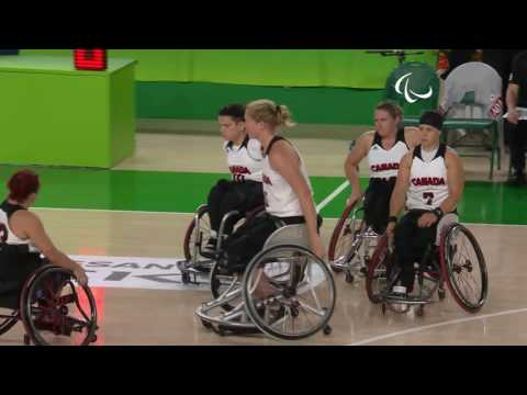 Wheelchair Basketball | Canada v China | Women's 5 - 6 place  | Rio 2016 Paralympic Games