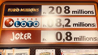 Swiss Loto Now at CHF 8M Jackpot | Along Came Cindy