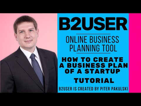 How To Write A Business Plan / Free Business Plan Online Tutorial / Example