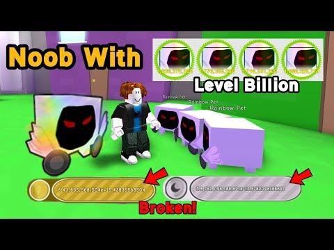 Download Noob With 4 Rainbow Dominus Huge Level 7 Billion