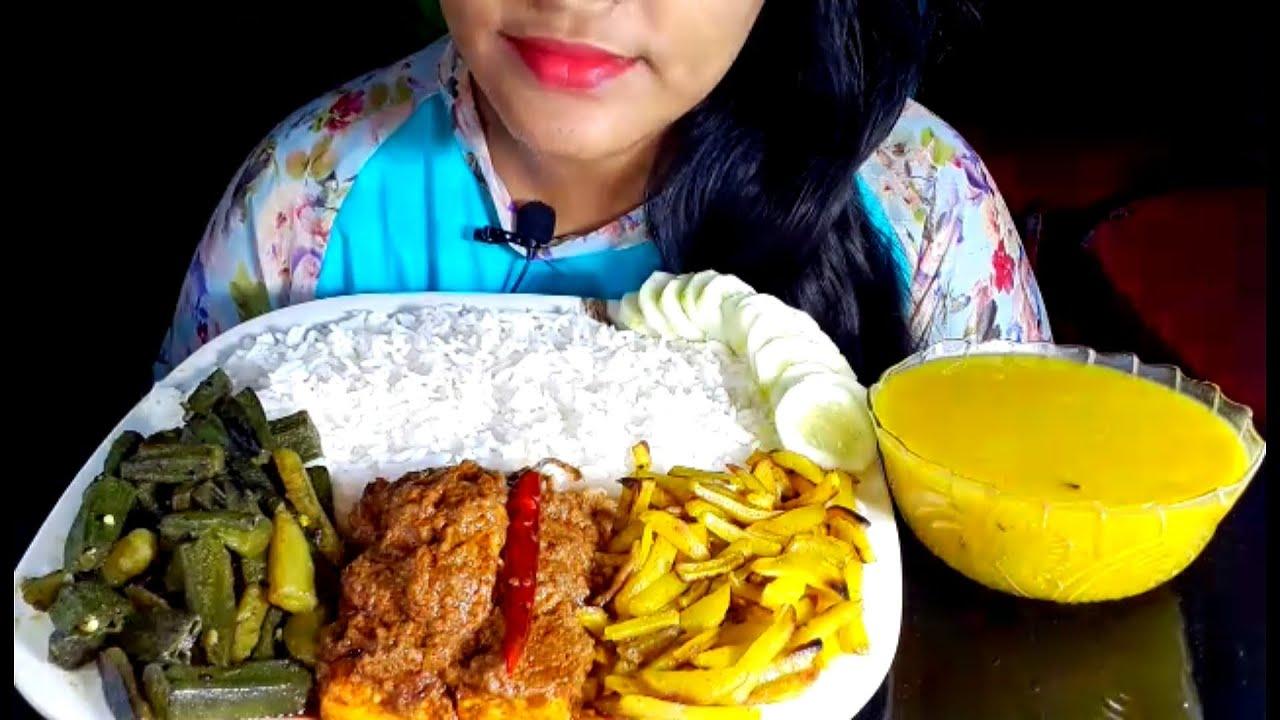 Paneer masala,Aloo Bhindi, Aloo bhaji, Daal fry