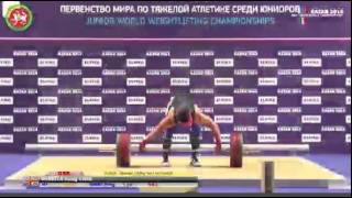 Junior World Weightlifting Championships 2014 Men 94kg Snatch
