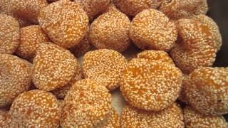 Food-deep Fried Sweet Rice Flour Cake