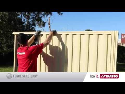 Stratco HowTo Install Good Neighbour Fencing