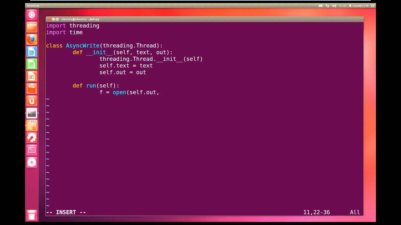 Python advanced tutorial 5 multithreading youtube baditri Images