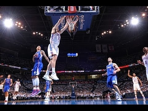 Steven Adams Dunks on One End and Swats on the Other!