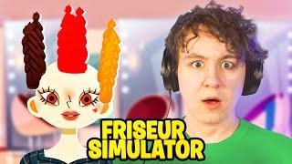 1 TAG ALS FRISEUR ARBEITEN?! - Friseur Simulator