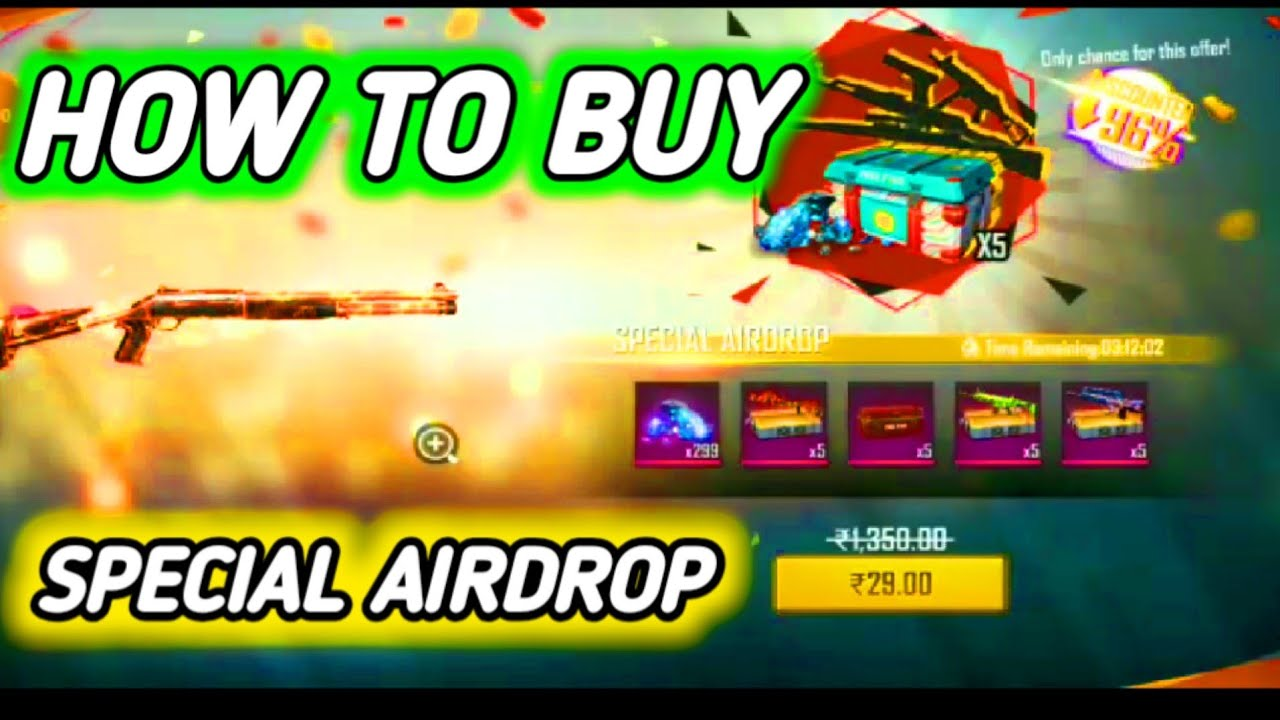 How to Buy Special Airdrop in Free Fire | #TotalGaming
