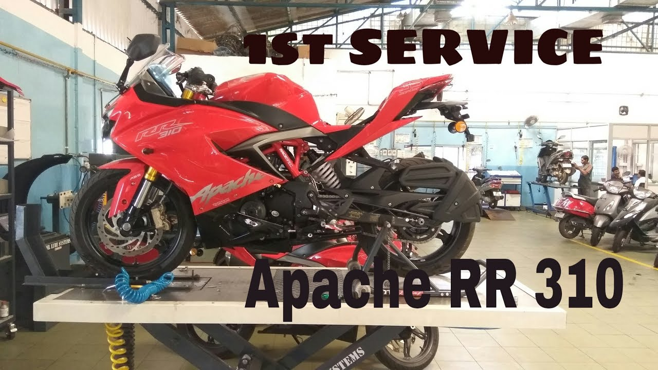 Service Manual of tvs apache rtr 180 blue colour Hd images