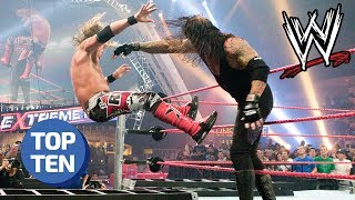 Top 10 Most Dangerous WWE Stunts