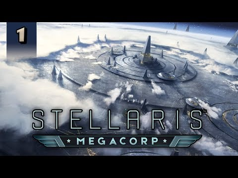Stellaris Megacorp - Profit Prophets - Part 1 [2.2 / Le Guin Gameplay]