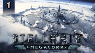 Stellaris Megacorp - Profit Prophets - Part 1 [2.2 / Le Guin Gameplay]