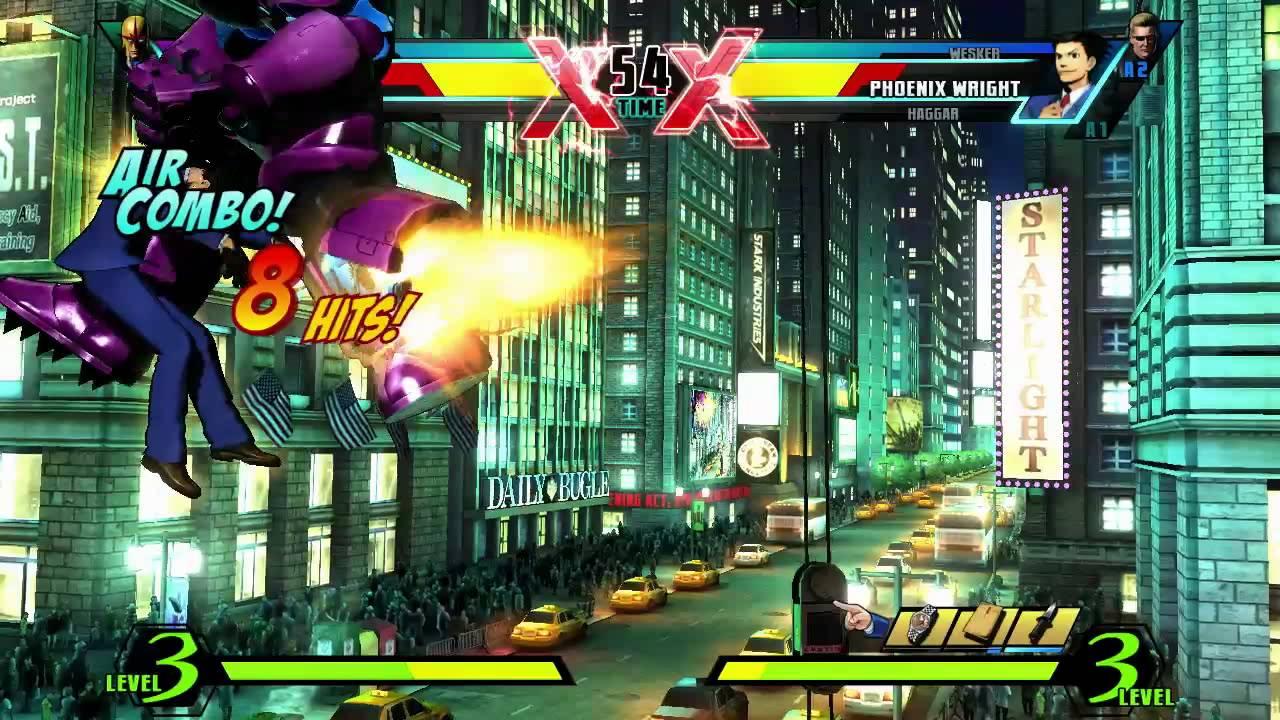 Ultimate Marvel Vs  Capcom 3 review – fighting fantasy   Metro News