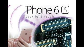 DIY iPhone 6S Repair the Backlight of the screen Tutorial / отремонтировать подсветку экрана