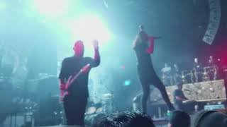 Born of Osiris - Intro + Divergency (Live) Phantom Anthem Tour Los Angeles, CA
