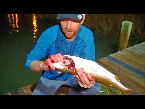 Secret Trick For Cleaning Redfish {GRAPHIC}