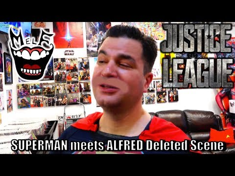 SUPERMAN meets ALFRED! Deleted Scene Justice League Parody