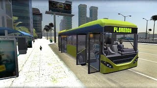 Bus Simulator 2018 #4 - Real Bus Driver - Android Gameplay FHD