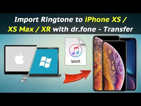 How to Import Ringtone to iPhone XS / XS Max / XR with dr.fone - Transfer