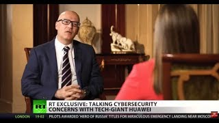 FULL SHOW: RT talks cyber-security with Huawei chief