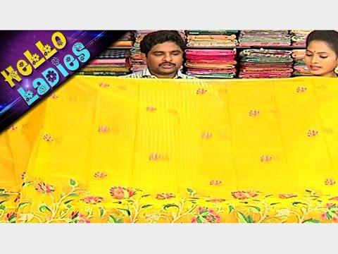 Latest Collections of Super Net And Kanchi Akshaya Pattu Sarees || Hello Ladies || Vanitha TV